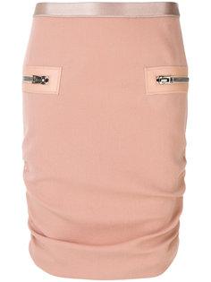 присборенная юбка Tom Ford