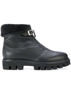 buckle strap ankle boots Unützer
