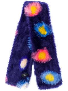 шарф из искусственного меха с крупными пятнами Ps By Paul Smith