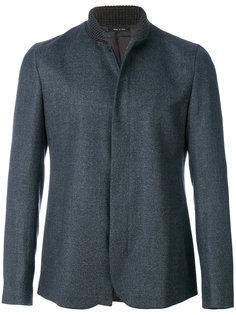 куртка с воротником в рубчик Emporio Armani