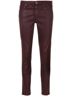 coated skinny jeans Ag Jeans