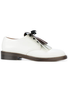 bicolour fringed loafers Marni