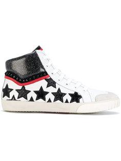кроссовки с блестками Ash