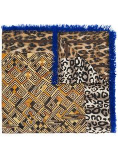 платок с леопардовым узором Pierre-Louis Mascia