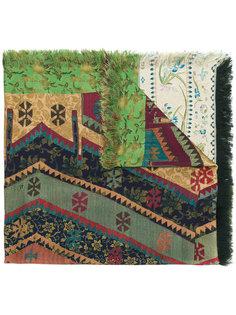 платок с ацтекским принтом Pierre-Louis Mascia