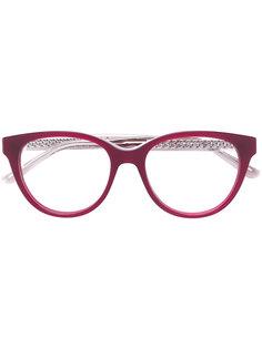 """очки в оправе """"кошачий глаз"""" Jimmy Choo Eyewear"""