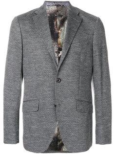тканый пиджак Etro