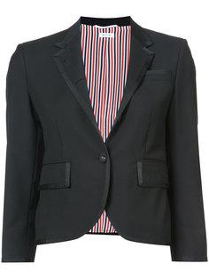 классическое однобортное пальто Thom Browne