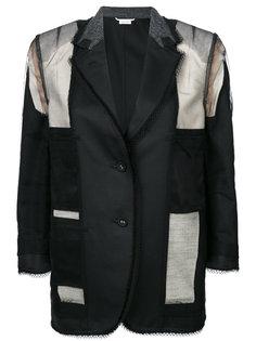 пиджак с потертой отделкой Thom Browne