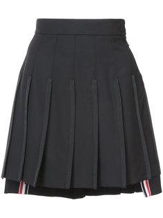 плиссированная мини юбка Thom Browne