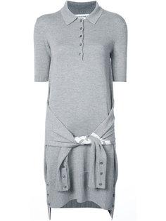 платье в стиле поло Thom Browne