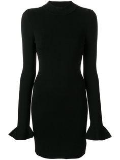 платье слим с расклешенными манжетами  Michael Michael Kors