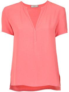 short sleeves blouse Egrey
