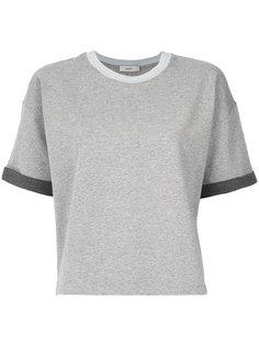 panelled T-shirt Egrey