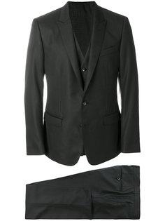 классический костюм-тройка Dolce & Gabbana