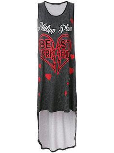 платье-футболка Bombay Paradise Philipp Plein