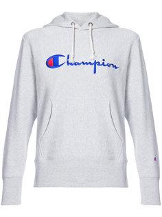 толстовка с вышитым логотипом Champion