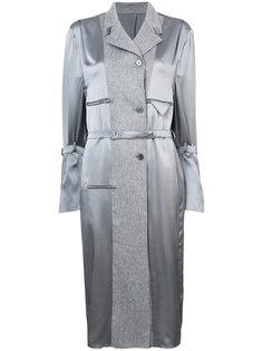 вечернее платье в стиле пальто Thom Browne