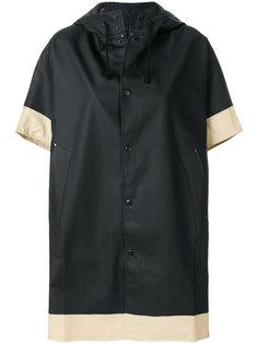 пальто свободного кроя с контрастной окантовкой Stutterheim