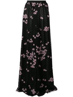 юбка макси с цветочным принтом  Giambattista Valli
