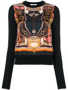 пуловер с принтом Givenchy