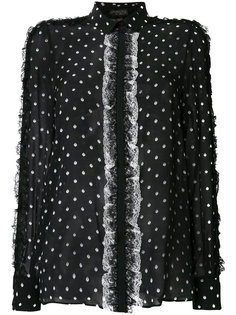 блузка в горошек  Giambattista Valli