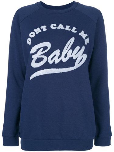 толстовка 'Don't Call Me Baby' Zoe Karssen
