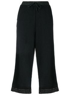 укороченные брюки с панельным дизайном Diesel