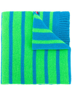 двусторонний неоновый шарф в полоску Ps By Paul Smith