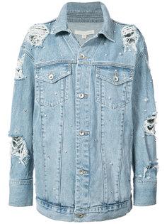 декорированная джинсовая куртка  Jonathan Simkhai