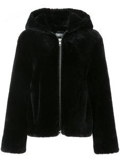 куртка с капюшоном на молнии Vince