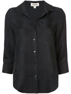 фактурная рубашка  Lagence