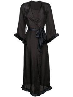 длинный халат с V-образным вырезом Loveday London