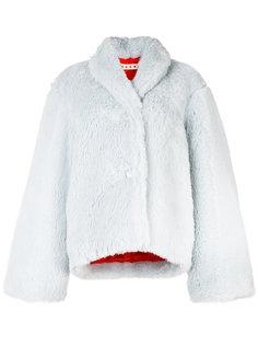 пушистая куртка на пуговицах Marni