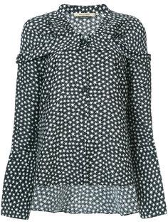 блузка с принтом звезд Hellessy