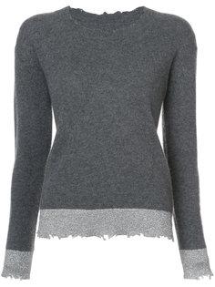 Charlotte metallic trim sweater Rta