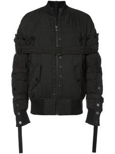 куртка-бомбер с ремешками Bmuet(Te)