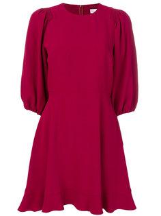 расклешенное платье шифт Red Valentino