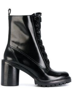ботильоны на шнуровке Marc Jacobs