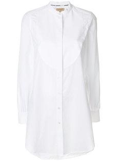 рубашка-туника с отделкой спереди  Burberry