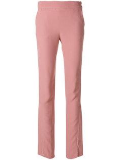брюки скинни с необработанным краем  Maison Flaneur