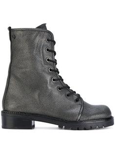 ботинки Metermaid на шнуровке Stuart Weitzman