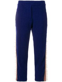 спортивные брюки со сборками  Laneus