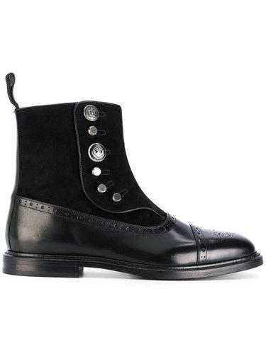 ботинки с брогированием Dolce & Gabbana