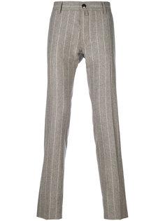 классические брюки в полоску Jacob Cohen