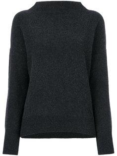 пуловер с горловиной-воронка Vince