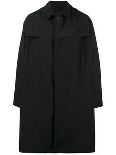 трехслойный макинтош с капюшоном Mackintosh 0001