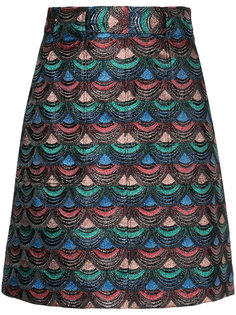 юбка с вышивкой  G.V.G.V.