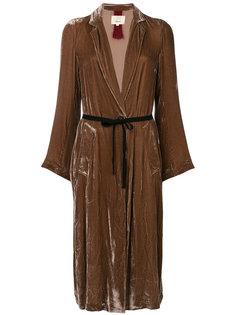 пальто Multo с поясом Diega