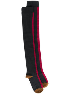 удлиненные ребристые носки Marni
